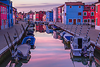 Colourful island in the Venetian archipelago