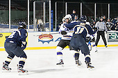 Craig Kitto (Williams - 11), James Burt (Trinity - 11) - The Williams College Ephs defeated the Trinity College Bantams 4-2 (EN) on Tuesday, January 7, 2014, at Fenway Park in Boston, Massachusetts.