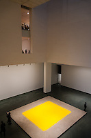 US, New York City. The Museum of Modern Art (MoMA). Wolfgang Laib's 'Pollen From Hazelnut'.