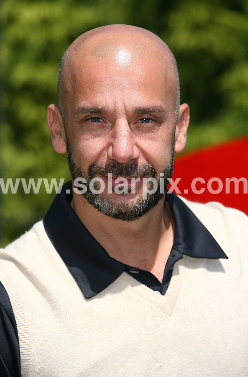 **ALL ROUND PICTURES FROM SOLARPIX.COM**.**WORLDWIDE SYNDICATION RIGHTS**.Celebrities attend The Leuka Mini golf Masters held at The Dukes Meadow Golf Club, Dan Mason Drive Uk..This pic: Gianluca Vialli..JOB REF: 11690      LNJ     DATE: 16.07.2010.**MUST CREDIT SOLARPIX.COM OR DOUBLE FEE WILL BE CHARGED**.**MUST NOTIFY SOLARPIX OF ONLINE USAGE**.**CALL US ON: +34 952 811 768 or LOW RATE FROM UK 0844 617 7637**