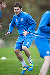St Johnstone Training&hellip;.14.10.16<br />Paul Paton pictured in training this morning atr McDiarmid Park ahead of tomorrows game against Kilmarnock<br />Picture by Graeme Hart.<br />Copyright Perthshire Picture Agency<br />Tel: 01738 623350  Mobile: 07990 594431