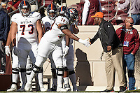 COLLEGE STATION, TX - NOVEMBER 19, 2016: The University of Texas at San Antonio Roadrunners fall to the Texas A&M University Aggies 23-10 at Kyle Field. (Photo by Jeff Huehn)