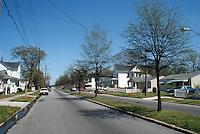 1996 April..Conservation.Lamberts Point.Public Improvements.New trees on 38th Street looking East...NEG#.NRHA#..CONSERV: Lambert2 7:16