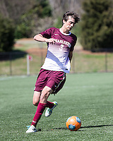 The College of Charleston Cougars played the  Georgia Southern Eagles in The Manchester Cup on April 5, 2014.  The Cougars won 2-0.  Tucker Coons (3)