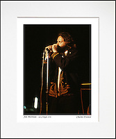 Jim Morrison - An affordable archival quality matted print ready for framing at home.<br />