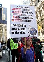 NEW YORK, NY - MAY 6:  Participants at the La Marcha de Mayo in New York, New York on May 6, 2017.  Photo Credit: Rainmaker Photo/MediaPunch