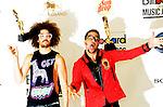 LMFAO SkyBlu and Redfoo at 2012 Billboard Music Awards Press Room at MGM Grand In Las Vegas May 20,2012