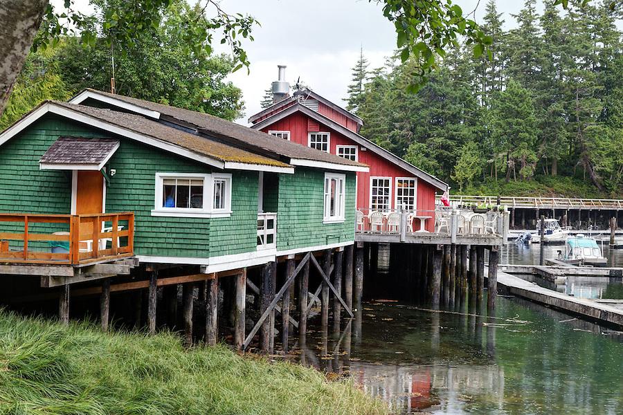 Telegraph Cove, Vancouver Island, Canada