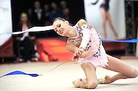 "February 8, 2014 - Tartu, Estonia - ARINA CHAROPA of Belarus performs at ""Miss Valentine 2014"" international tournament."