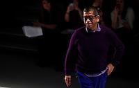 New york, United States. 7th February 2013 -- Fashion designer Tadashi Shoji at the end of his show during New York Fashion Week, MBFW 2013 in New York. Photo by Kena Betancur / VIEWpress.