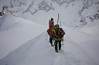 Aquille du Midi ridge