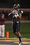 18 November 2006: Wake Forest's Kevin Marion returns a kickoff. The Virginia Tech Hokies defeated the Wake Forest University Demon Deacons 27-6 at Groves Stadium in Winston-Salem, North Carolina in an Atlantic Coast Conference NCAA Division I College Football game.