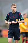 Partick Thistle v St Johnstone....25.10.14   SPFL<br /> Referee Calum Murray<br /> Picture by Graeme Hart.<br /> Copyright Perthshire Picture Agency<br /> Tel: 01738 623350  Mobile: 07990 594431