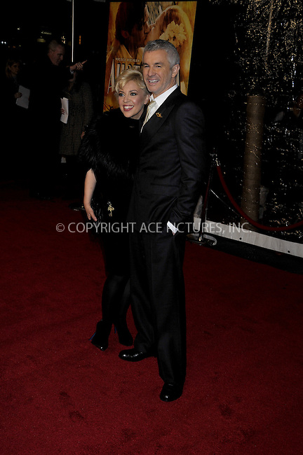 WWW.ACEPIXS.COM . . . . .....November 24, 2008. New York City.....Director Baz Luhrmann (right) and guest attend the 'Australia' Premiere held at the Ziegfeld Theater on November 24, 2008 in New York City...  ....Please byline:  AJ Sokalner - ACEPIXS.COM..... *** ***..Ace Pictures, Inc:  ..Philip Vaughan (646) 769 0430..e-mail: info@acepixs.com..web: http://www.acepixs.com