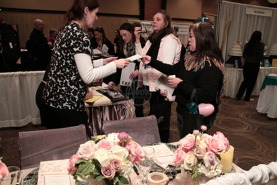 Northwest Bridal Showcase 2012 at Tulalip Resort and Casino.