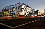 The Petersen Automoitve Museum in Los Angeles