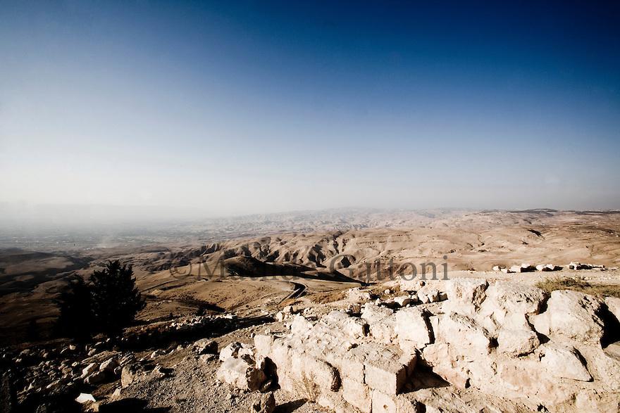 JORDAN - VIEW FROM MOUNT NEBO