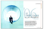 CFO magazine  feature : Tearsheets by San Francisco Bay Area - corporate and annual report - photographer Robert Houser. 2006 pictures.