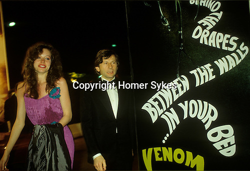 Roman Polanski Cannes film festival May 1980. France. With Betsy Minetree Khashoggi  who was then,  an American 21 year old  blue jeans model called Betsy Farley. Not a film actress but was the  &quot;succes fou&quot;, of the festival raved Paris Martin, who went on to write  &quot;This year the US sent no strong films, as last year - but they sent us Betsy Farley.&quot;<br /> <br /> Girlfriend named thanks to Jon Mortas.