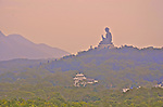Tian Tan Buddha or the Big Buddha at Po Lin Monastry on Lantau Island is one of the main cultural attractions of Hong Kong.
