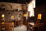 Typical Czech restaurant in southern Bohemia, Czech Republic, Europe