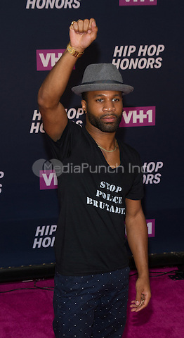 New York, NY July 11: Johnny Ray Gill attends the VH1 Hip Hop Honors: All Hail The Queens at David Geffen Hall on July 11, 2016 in New York City.@John Palmer / Media Punch