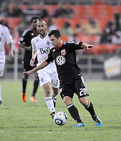 D.C. United midfielder Stephen King (20). D.C. United defeated The Vancouver Whitecaps FC 4-0 at RFK Stadium, Saturday August 13 , 2011.