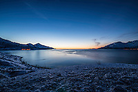 Sunset over Norwegian Fijord. (Photo by Travel Photographer Matt Considine)