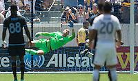 Carson, CA. - Sunday, August 23, 2015: The Los Angeles Galaxy defeat New York City FC 5-1 during Major League Soccer play at StubHub Center.
