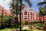 Royal Hawaiian Hotel,Waikiki, Honolulu, Oahu, Hawaii