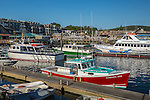 Lobster boats in Bar Harbor, Maine, USA