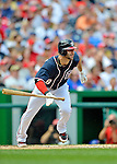 3 September 2012: Washington Nationals second baseman Danny Espinosa in action against the Chicago Cubs at Nationals Park in Washington, DC. The Nationals edged out the visiting Cubs 2-1, in the first game of heir 4-game series. Mandatory Credit: Ed Wolfstein Photo
