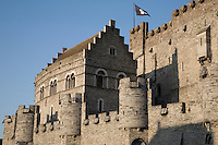 Gravensteen Castle, Ghent, Belgium, Europe