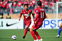 Mitsuo Ogasawara (Antlers), APRIL 19, 2011 - Football : AFC Champions League 2011 Group H, between Kashima Antlers 1-1 Suwon Samsung Bluewings at National Stadium, Tokyo, Japan. The game started at 2pm on Tuesday afternoon in Tokyo as Kashima are unable to use their home stadium as a result of the earthquake and tsunami that hit the east coast of Japan on March 11th 2011 and due to the ongoing nuclear crisis in Fukushima which has reduced the electricity supply to the region meaning that floodlit night games cannot be justified. (Photo by Jun Tsukida/AFLO SPORT) [0003]