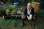 man, allotment, Egton Bridge, Gooseberry show, BRITAIN, ENGLAND, UK, BRITISH, ENGLISH, Gooseberry, Yorkshire, Annual event, Folk custom, travel stock uk,