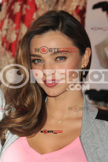 NEW YORK, NY - NOVEMBER 19: Miranda Kerr at the 2012 Victoria's Secret Angel Holiday Celebration at Victoria's Secret, Herald Square on November 19, 2012 in New York City. Credit: mpi01/MediaPunch Inc. /NortePhoto
