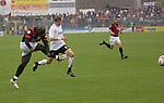Sandhausen 19.04.2008, Ali Gerba (Ingolstadt) und Christian Beisel (SV Sandhausen) in der Regionalliga S&uuml;d 2007/08 SV Sandhausen 1916 - FC Ingolstadt 04<br /> <br /> Foto &copy; Rhein-Neckar-Picture *** Foto ist honorarpflichtig! *** Auf Anfrage in h&ouml;herer Qualit&auml;t/Aufl&ouml;sung. Belegexemplar erbeten.