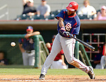 10 March 2006: Marlon Anderson, infielder for the Washington Nationals, at bat during a Spring Training game against the Houston Astros. The Astros defeated the Nationals 8-6 at Osceola County Stadium, in Kissimmee, Florida...Mandatory Photo Credit: Ed Wolfstein..