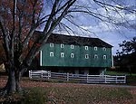 M10011201_Green_Barn_Autumn_OH<br />