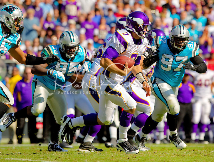The Carolina Panthers vs. the Minnesota Vikings at Bank of America Stadium in Charlotte, North Carolina...Photos by: Patrick Schneider Photo.com