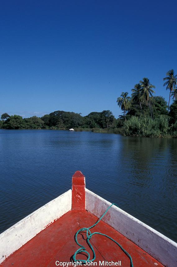 An island in Las Isletas, islands located in Lake Nicaragua near Granada, Nicaragua