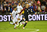 Washington, D.C. - October 11, 2016: The U.S. Men's National team take 1-0 lead over New Zealand in first half play in an international friendly game at RFK Stadium.