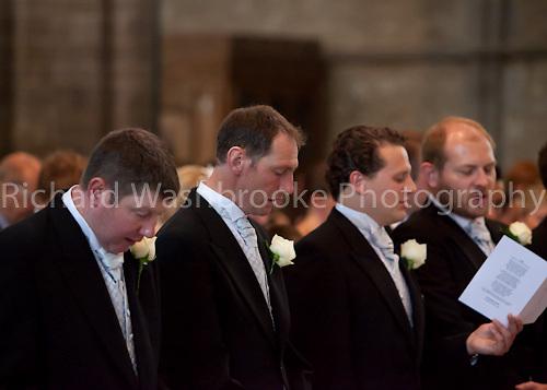 Wedding - Max and Adam  21st May 2011 - St Davids Cathedral, St Davids, Pembrokeshire..© Washbrooke - Harpenden, Herts, England - Tel: +44 (0) 7991853325 - richard@washbrooke.com - www.richardwashbrooke.photoshelter.com