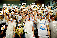 The boys high school basketball game between the South Burlington Rebels and the Mount Mansfield Cougars at MMU High School on Thursday night February 23, 2012 in Jericho, Vermont.