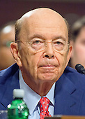 Wilbur L. Ross, Jr. testifies before the United States Senate Committee on Commerce, Science, and Transportation on his nomination to serve as US Secretary of Commerce on Capitol Hill in Washington, DC on Wednesday, January 18, 2017.<br /> Credit: Ron Sachs / CNP