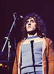The WHO 1972 Roger Daltrey in Tommy at the Rainbow..© Chris Walter..