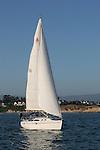 Sailing near Santa Cruz, CA