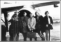 BNPS.co.uk (01202 558833).Pic: FameBureau/BNPS..Beach boys on tour in the late sixties...Get me Wonga.....A 'lost' archive of original music manuscripts, contracts and pictures of the Beach Boys has emerged for sale for nearly seven million pounds...The vast collection, that spans the first 20 years of the band's hugely successful career and consists of thousands of documents, was found forgotten in a storage unit...The treasure trove includes the sheet music for the Beach Boys' classic hits like 'God Only Knows', 'Good Vibrations' and 'Fun, Fun, Fun.'..It also includes handwritten lyrucs, recording contracts and copyright certificates signed by Brian Wilson and Mike Love, musical arrangements, royalty cheques and personal letters...And there are more than 60 behind-the-scenes photos of the hugely successful American rock band, many of them never seen before..