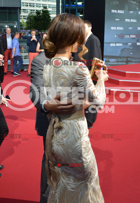 Berlin, August 13, 2012: Kate Beckinsale attends the &quot;Total Recall&quot; Premiere /NortePhoto.com<br />
