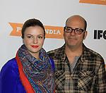 12-10-12  Amber Tamblyn & hubby David Cross - Portlandia 3 Premiere